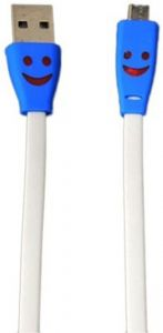 Trioflextech USB Smiley Lightening Data Cable