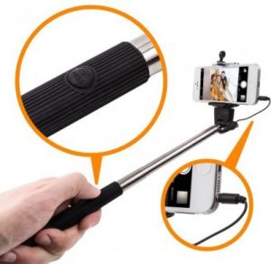 Trioflextech Wire Selfie Stick - Multicolor