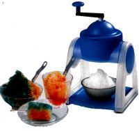 Ice Snow Gola & Slush Maker Manual Operated Plastic Body Ice Gola Maker