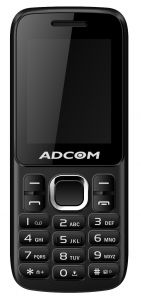 Adcom C1 -1.8 Inch CDMA Phone- Black & Red