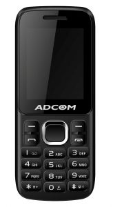 Adcom C1 Cdma(black & Orange)- With Manufacturer Warranty