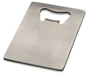 Giftguys Credit Card Bottle Opener For Your Wallet - Stainless Steel