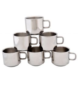 Dynamic Store Set Of 6 Double Wall Tea Cups - Ds_105