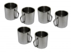 Dynamic Store Set Of 6 Double Wall Small Sober Cups - DS_110