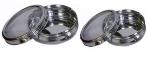 Dynamic Store Set Of 2 See Through Belly Poori Dabba - Ds_130