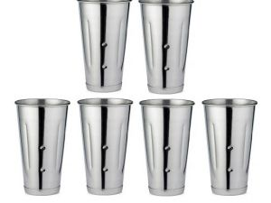 Dynamic Store Set Of 6 Long Lassi Glasses Malt Cup - DS_138