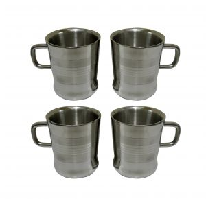 Dynamic Store Set Of 4 Double Wall Milano Cups - Ds_153