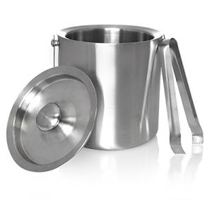 Dynamic Store Double Wall Ice Bucket And Ice Tong Set - Ds_181