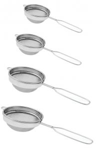 Dynamic Store Set Of 4 Classic Wire Handle Tea Strainers - Ds_229