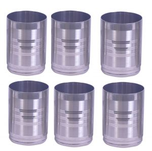 Dynamic Store Round Shape Drinking Glass Set Of 6 - Ds_290