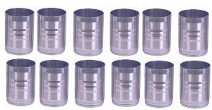 Dynamic Store Round Shape Drinking Glass Set Of 12 - Ds_293