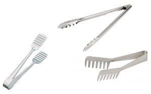 Dynamic Store Set Of 3 Tongs - Utility Tong, Noodle Tong, Cake Tong - Ap - Ds_320