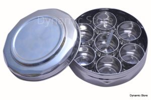 Dynamic Store Diamond Shaped Stainless Steel Spice Box Large - Ds_39