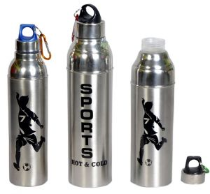 Thermos & water bottles - Dynamic Store Set of 3 Insulated Hot & Cold water bottles - DS_430