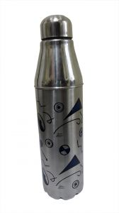 Stainless Steel Insulated Star Water Bottle 1000 Ml