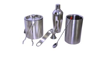 Dynamic Store Stainless Steel 7 PCs Bar Set - Large - Ds_70