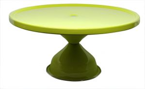 Stainless Steel Elegant Yellow Cake Stand