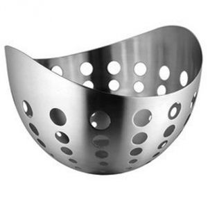 Dynamic Store Stainless Steel Large Boat Fruit Basket - Ds_87