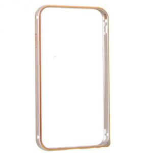 Metal Bumper Case For Apple iPhone 4G (gold)