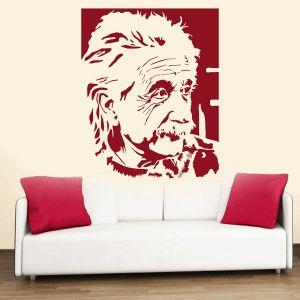 Wall stickers & decals - Decor Kafe Albert Einstein Wall Decal  -(Code-DKHS0127BUS)