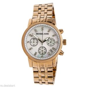 Watches - Michael Kors Watches Ladies Gold Blair (gold)