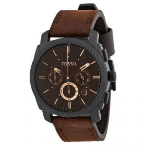 Fossil Watches - Imported Mens Fossil Machine Chronograph Watch Fs4656