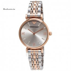 Women's Watches   Analog - Imported Emporio Armani AR1840 Rare Retro Style Dual Tone Watch for Women
