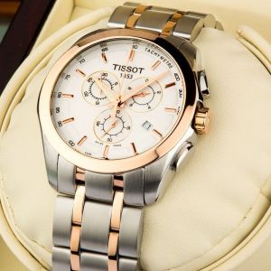 Tissot Watches - Imported Tissot Couturier Chronograph Men Imported Wrist Watch With Steels