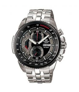 Casio Mens' Watches   Round Dial   Metal Belt   Analog - Casio Edifice Ef-558d-1avdf (ed436) Watch