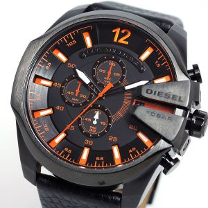 Diesel The Daddie Analog Chronograph Grey Dial Watch For Men - Dz4291