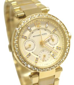 Women's Watches - Michael Kors Parker Chronograph Ladies Watch