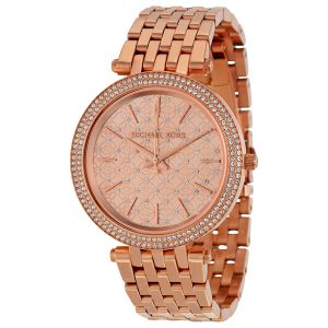 Michael Kors Darcy Rose Gold Colour Ladies Watch Mk3399