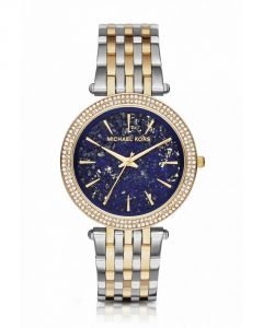 Michael Kors Darci Pav Two-tone Bracelet (mk3401) - 39mm.slim Watch(imported)