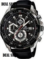 Men's Watches   Round Dial   Leather Belt   Analog - Casio Edifice 539 Efl New Arrival With Leather Strap