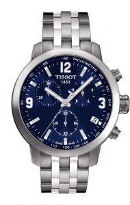 Imported Tissot T171.586.42 Prc200 Chronograph Blue Men Wrist Watch