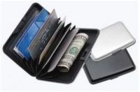 Set Of 3 Data Secure Aluminum Indestructible Wallet Aluma