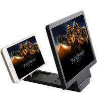 Mobile Phone Foldable 3d Screen Enlarge X 3 Movie Theater
