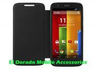 Flip Cover Folio Case For Motorola Moto G Dual Sim Xt1033