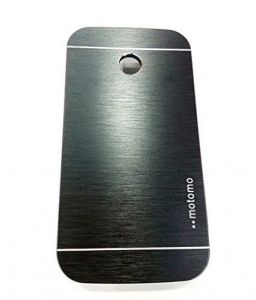 Tos Motomo Back Cover Black For Motorola Moto E