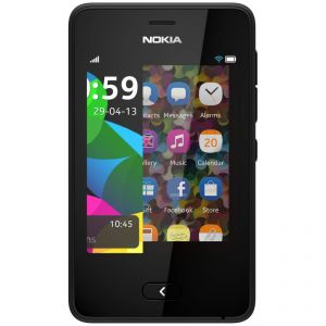 EDGE Plus Full Housing Body Panel For Nokia 501- Black