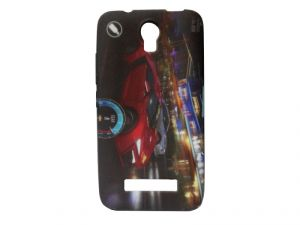 Kelpuj Multicolor Mobile Back Cover For Micromax Canvas Play Q355