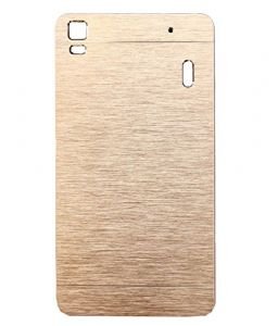 Ae Mobile Accessories Ae Motomo Metal Hard Back Cover Case For Lenovo A7000 Golden