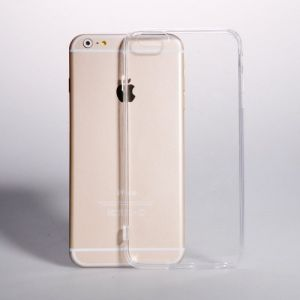 Tos Back Cover For Apple iPhone 6 Plus Clear/transparent Silicon Case