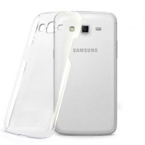 Tos Back Cover For Samsung Galaxy Grand 2 Clear/transparent Silicon Case