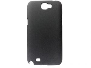 Kelpuj Black Mobile Back Cover For Samsung Galaxy Note II N7100