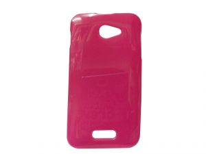 Kelpuj Pink Mobile Back Cover For Micromax Unite A092