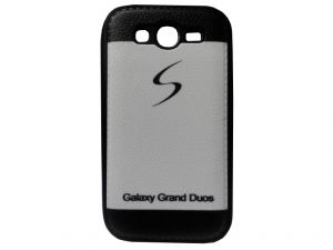 Rubber Back Cover For Samsung Galaxy Grand Duos-multicolor (design 2)