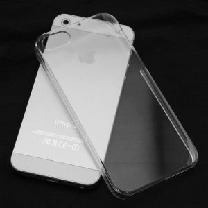 Ultra Slim Apple iPhone 5/5s Back Case Cover Transparent With Screen Guard