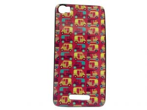 Kelpuj Multicolor Mobile Back Cover For Lava Iris X8