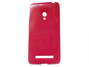 Kelpuj Pink Mobile Back Cover For Asus Zenfone 5